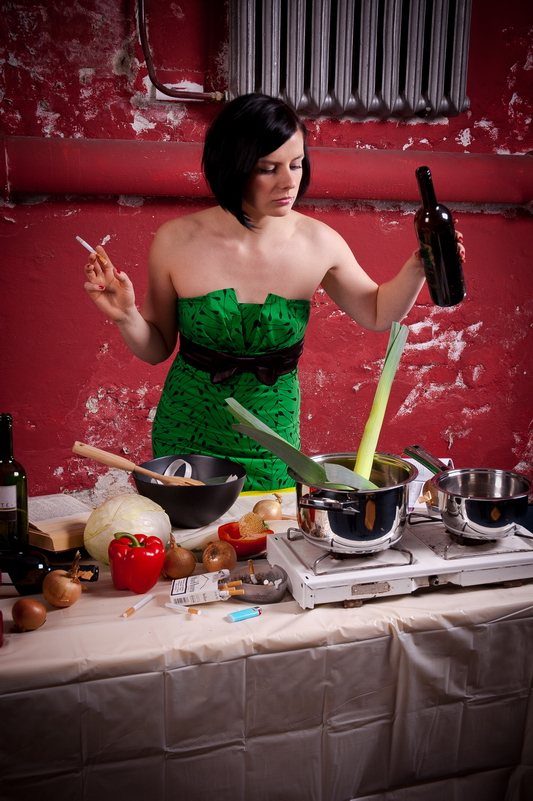 Kuchenna fotografia