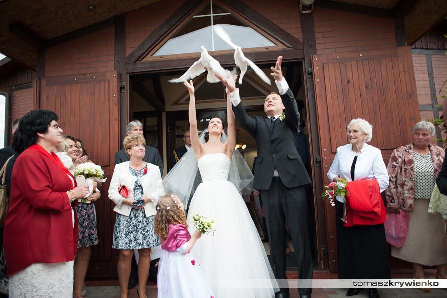 Fotorelacja ze ślubu Asi i Bartka